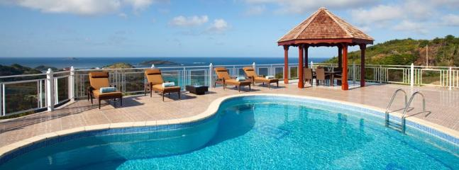 Soleil Levant at Petit Cul de Sac, St. Barth - Ocean View, Sunrise and Sunset Views - Petit Cul de Sac vacation rentals