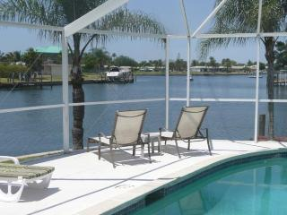 Waterfront Villa with Boat and South Facing Pool - Cape Coral vacation rentals