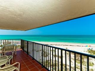 View from the balcony - Water's Edge 209 North - Holmes Beach - rentals