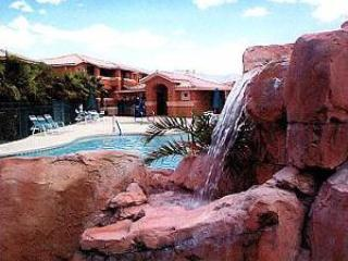 Short walk to this pool, also a bar-b-que and picnic area (not shown) - Eagle's Nest: Sunrise-to-Sunset Views, End-Unit - Mesquite - rentals