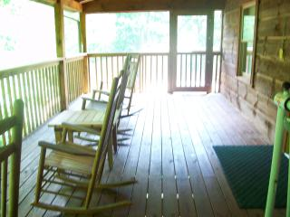 Cozy, romantic BearFoot 2. Best location around! - Townsend vacation rentals