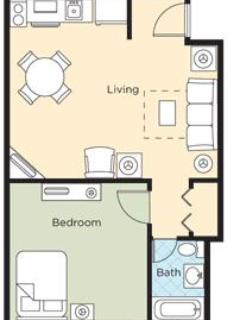 FLOORPLAN - Quiet New Orleans resort, yet close to the action - New Orleans - rentals