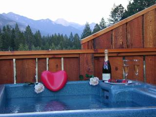 Cabins in BC Rockies and Pet Friendly private Hot tubs - Kootenay Rockies vacation rentals