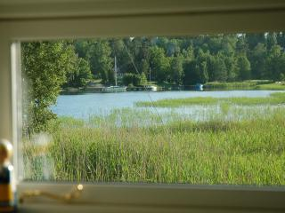 25 meters from Stockholm archipelago, boat + canoe - Stockholm vacation rentals