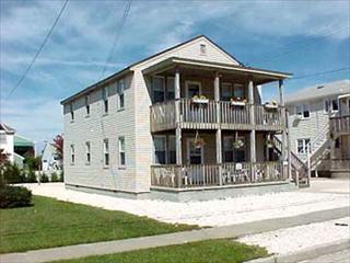 11007 Third Avenue 1st Floor Stone Harbor NJ Rentals Exterior Front Of Duplex - 11007 Third Avenue in Stone Harbor, NJ - ID 177885 - Stone Harbor - rentals