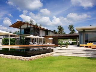 Bright Villa with Shared Outdoor Pool and Parking - Takua Thung vacation rentals