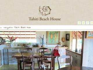 Tahiti beach house - Moorea vacation rentals