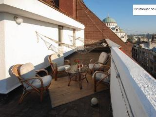Luxus penthouse for 5 in CityCenter - roof teracce - Belgrade vacation rentals