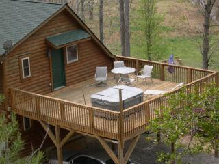 LOG HOME SECLUSION ON 10 ACRES w/Creek - Sleeps 11 - Lake Lure vacation rentals