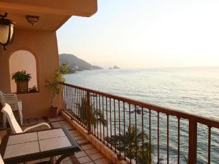 Beautiful Beachfront 2 Br Corner Unit: Punta Negra - Puerto Vallarta vacation rentals