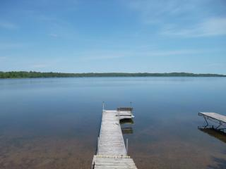 Great 2 Bed right on Big Portage Lake- Sandy Beach - Hackensack vacation rentals