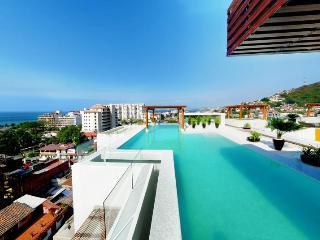 Amazing New 5* 1BR 2BA 5min to beach Fab Pool&View - Puerto Vallarta vacation rentals