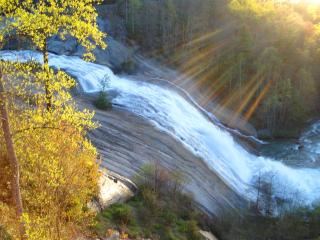 WATERFALL & MOUNTAIN VIEW!  VALENTINE SPECIAL - WINE & CHOCOLATES IN FEBRUARY! - Lake Toxaway vacation rentals