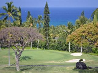 Beautiful 2 bedroom 2 bath with loft and ocean view on the 18th fairway #322 - Kailua-Kona vacation rentals