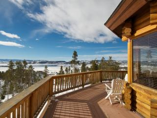 Luxury Log Cabin W/Mnt &Lake Views Near Grand Lake - Grand Lake vacation rentals
