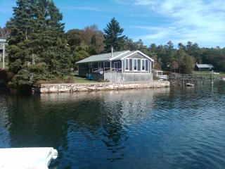 Waterfront Rental Home near Boothbay Harbor Maine - Mid-Coast and Islands vacation rentals