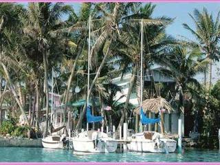 Conch Key TreeTop one BR Cottage with 23' Sailboat - Conch Key vacation rentals