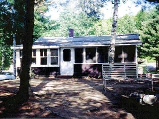 Loon Cabin, Wyman Lake, Maine - 2 Bedrooms - North Anson vacation rentals