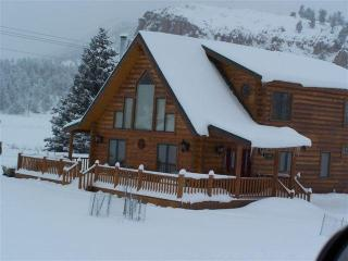 Riverfront Log Cabin 17 miles to Wolf Creek Ski - South Fork vacation rentals