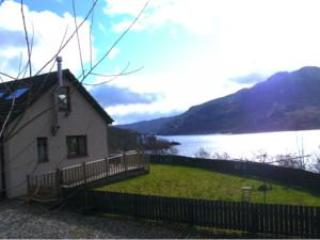Wonderful view from the side of the cottage - 2 Bed Cottage Overlooking Spectacular Loch Katrine - Callander - rentals