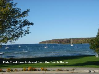 Water View - The BEACH HOUSE - Avail. Oct  25 - 31 - Fish Creek vacation rentals