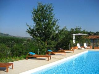 Chic 2 bed apartment, in Piedmont vineyards, pool - Santo Stefano Belbo vacation rentals