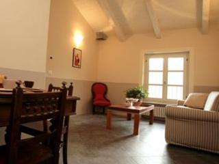 Chic 2 bed apartment, in Piedmont vineyards, pool - Santo Stefano Belbo vacation rentals