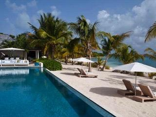 Luxury 5 bedroom Jumby Bay Resort villa. Dramatic views of the beach and ocean! - Saint Philips vacation rentals