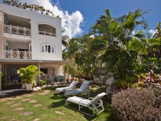 Reeds House 1 at Reeds Bay, Barbados - Beachfront, Private Roof Top Sun Deck, Spa Pool - Saint James vacation rentals