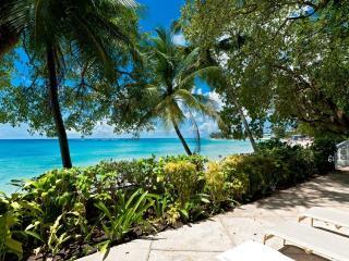 Sea Isle at Mullins Beach, Barbados - Beachfront, Well Kept Garden, Large Enclosed Verandah - Saint Peter vacation rentals