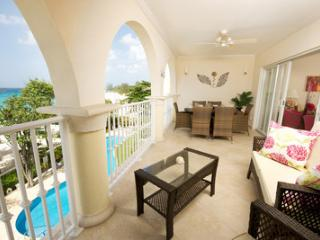 Sapphire Beach 307 at Dover Beach, Barbados - Beachfront, Gated Community, Communal Pool - Bottom Bay vacation rentals