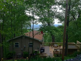 Mountain cabin w/ hot tub + Shenandoah Valley view - Front Royal vacation rentals