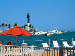 LIGHTHOUSE VIEW!!   Waterfront Studio Pompano Bch - Pompano Beach vacation rentals