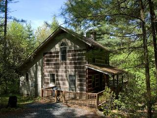 Ashe Mountain Dream - Antique Style Log Cabin w/ Hot Tub - Near Todd & WJ - Fleetwood vacation rentals