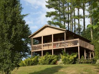 Log Cabin w/ Hot Tub, Views & Privacy- Near New River State Park - West Jefferson vacation rentals