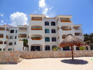 Cozy Apartment with A/C and Shared Outdoor Pool in Chicxulub - Chicxulub vacation rentals