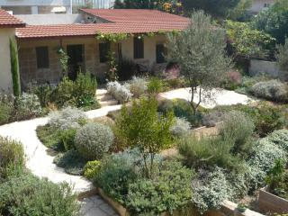 Beautiful Stone Cottage in Tranquil Zichron Garden - Mikhmoret vacation rentals