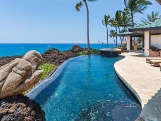 Gated Oceanfront Villa Kahi O Ko'aniani with Infinity Pool - 5 Minutes to Golf - Mauna Lani vacation rentals