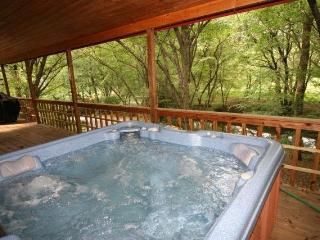 Secluded Romantic Creekside Cabin on three acres - Mineral Bluff vacation rentals