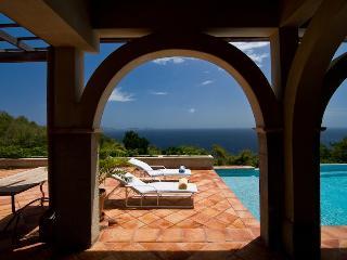 Luxury Bequia villa on 10 acres, infinity pool, gazebo, 4 Bedrooms, 2 Receptions, 4 Bathrooms (v) - Port Elizabeth vacation rentals