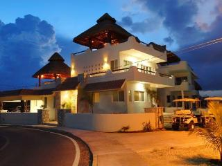 Spacious Oceanfront Home, 5 BR-El Castillo Maya - Isla Mujeres vacation rentals