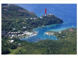 Spacious Villa with Deck and A/C - Marigot Bay vacation rentals