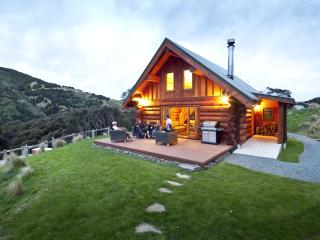 Secluded, private log chalet in native bush valley - Dunedin vacation rentals