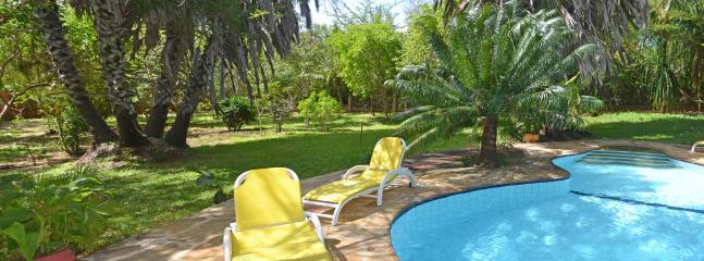 Set in tropical gardens, including doum palms - Acacia Cottage - 3 Bedroom Watamu Home - Watamu - rentals