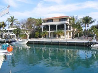 Three story home 100 feet deep water dock big pool - Islamorada vacation rentals