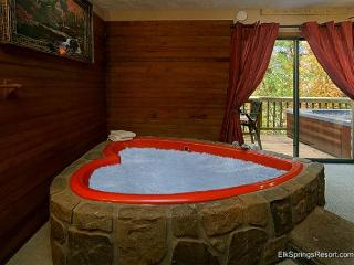 Romantic Seclusion in Pigeon Forge - Close To Everything! - Gatlinburg vacation rentals