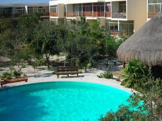 2 bedroom condo with pool, steps to the beach! - Progreso vacation rentals