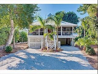 Beautiful cottage on Captiva, street view - By the Sea - Captiva Island - rentals