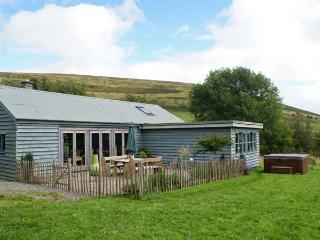 LITTLE CESTE, wooden clad cottage, with woodburner, 4 poster double, hot tub, in Glascwm, Ref 18967 - Mid Wales vacation rentals