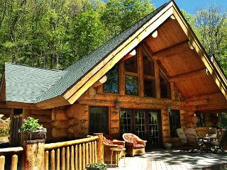 Unique Colorado Style Log Cabin - Amazing Views, Hot Tub, Totally Private - West Jefferson vacation rentals